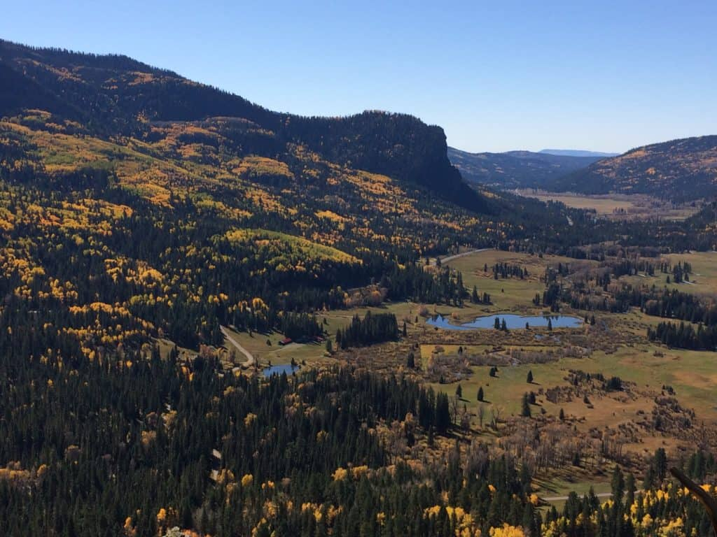 seasonal affective disorder/fall colors in the mountains