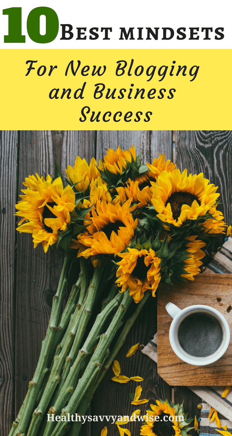 10 great mindset strategies to help new bloggers and businesses weather the journey and celebrate victories along the way. #newbloggers #onlinebusiness #workfromhome #positivemindset #entrepreneur