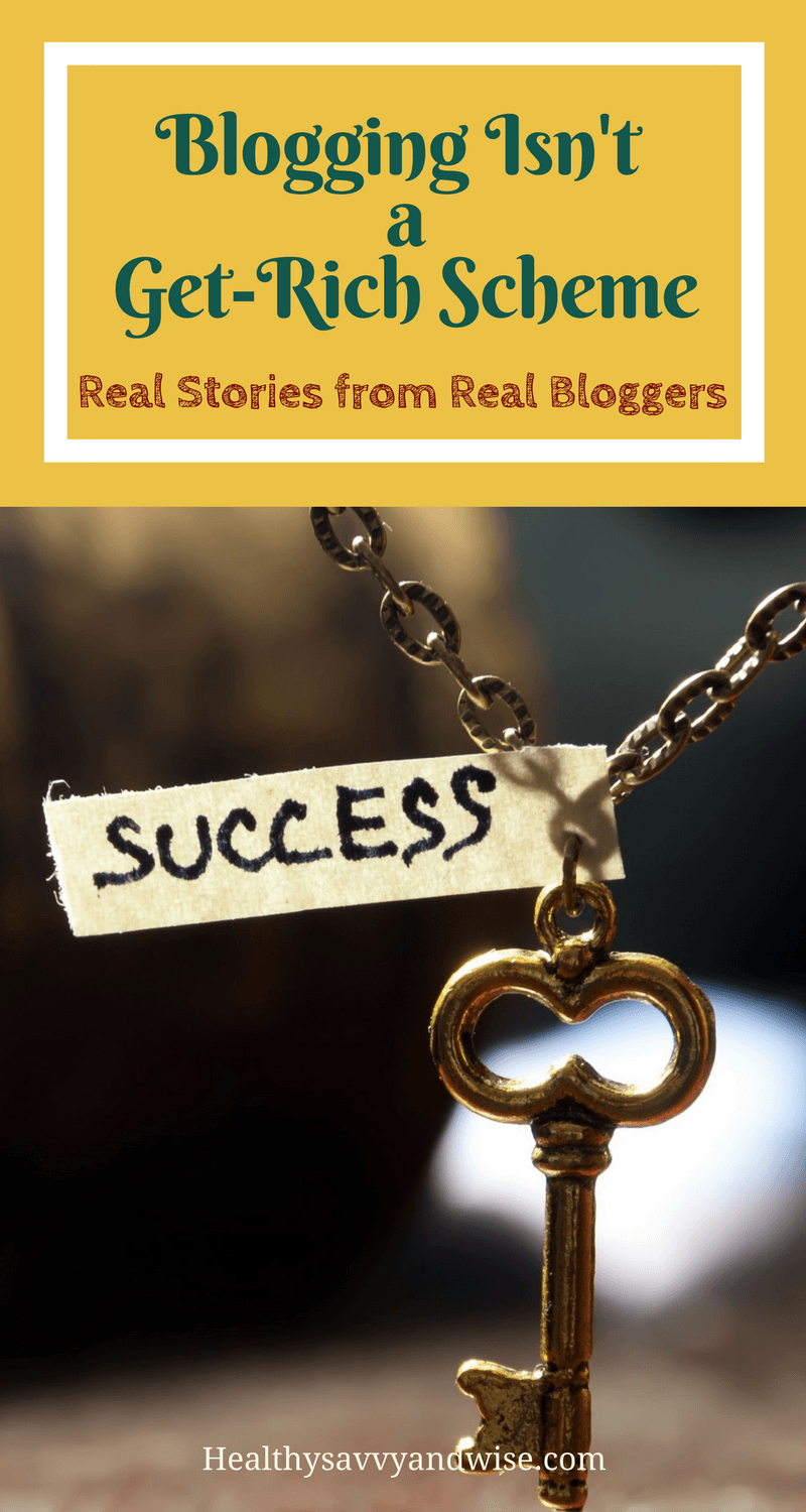 Blogging isn't a get-rich scheme. If you're distracted, discouraged, or disgusted with all the blogging hype, read these real-life blogging stories instead. Blogging, make money at home, online income, affiliate marketing, work at home.