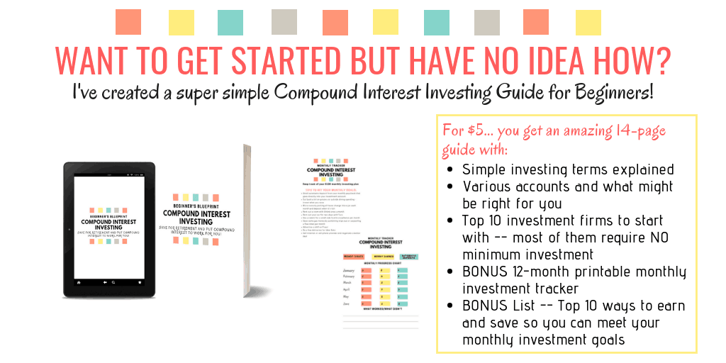 Compound interest investing beginner's blueprint eBook