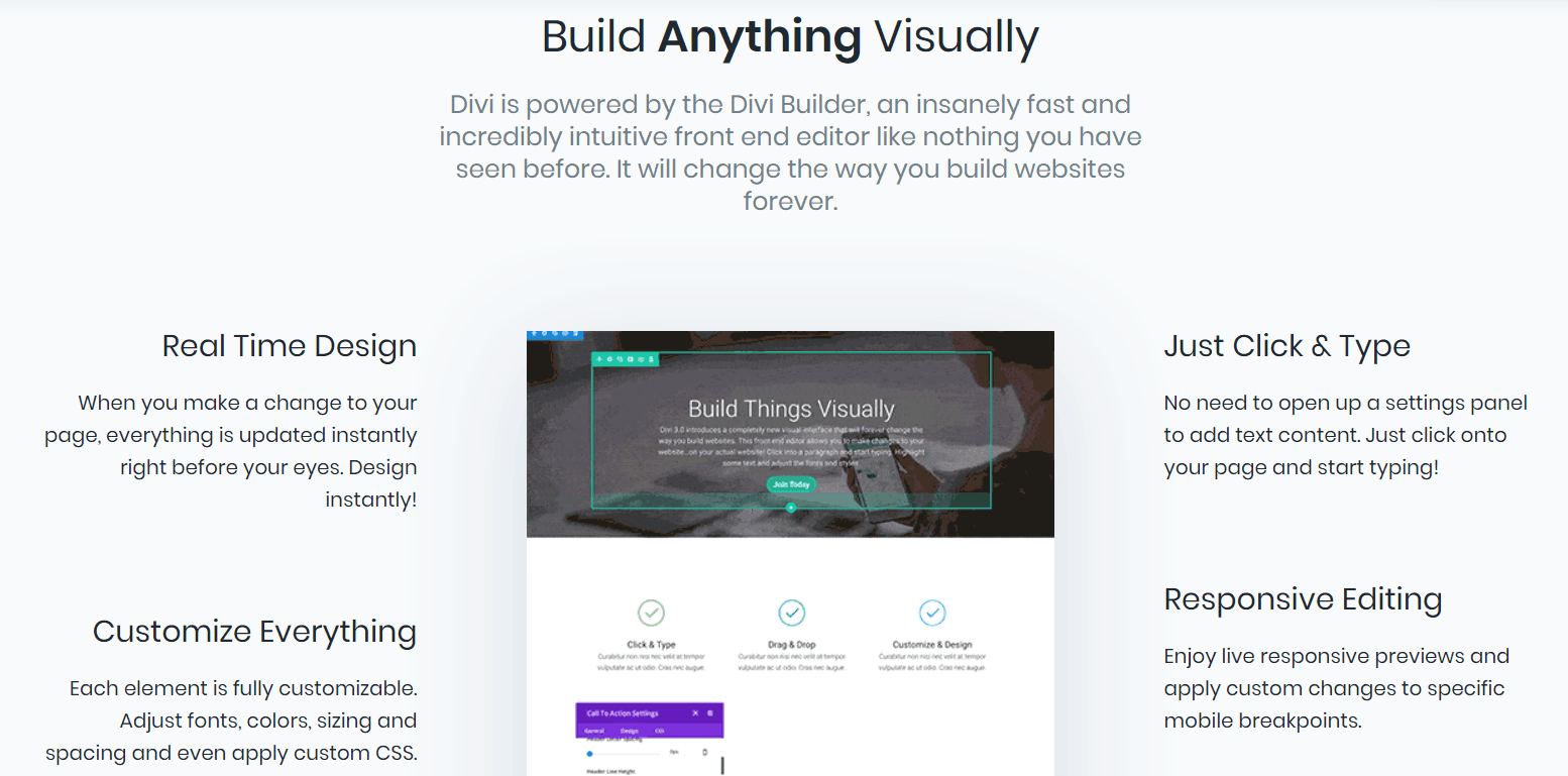 Picture of the Divi blogging theme