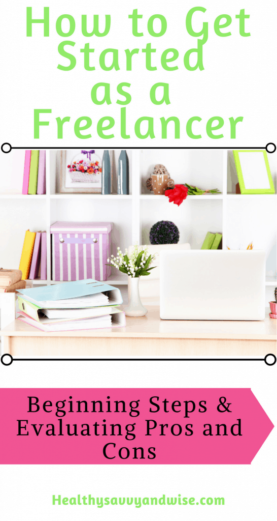 Make money from home freelancing - graphic