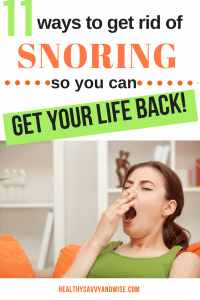11 Must-have snoring remedies and aids to help stop snoring in its tracks. If you've been searching for snoring treatments you can do at home, try some of these natural solutions to restore your sleep, sanity, and daily productivity.