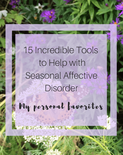 15 Incredible Tools to Help With Seasonal Affective Disorder