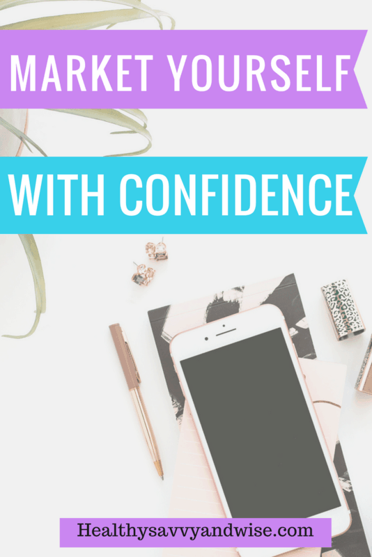 How to market yourself with confidence is a huge and dreaded issue for many business owners, freelancers, and bloggers. Let me show you how to turn the fear of talking about yourself into a helpful conversation instead. Marketing yourself can be easy and fun.  #marketing #selfpromotion