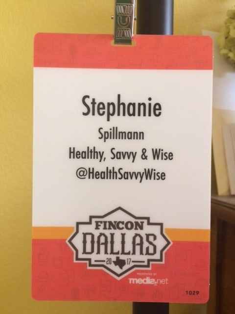Name badge for Healthy Savvy Wise: How to Market Yourself With Confidence