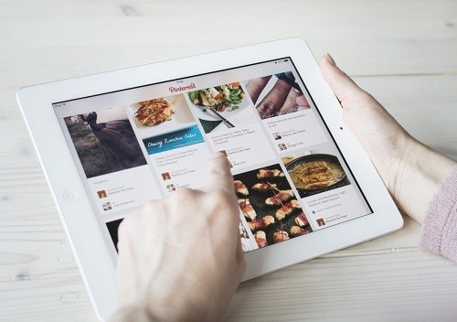 Pinterest image on a tablet: What is Pinterest and How to Use it for Business