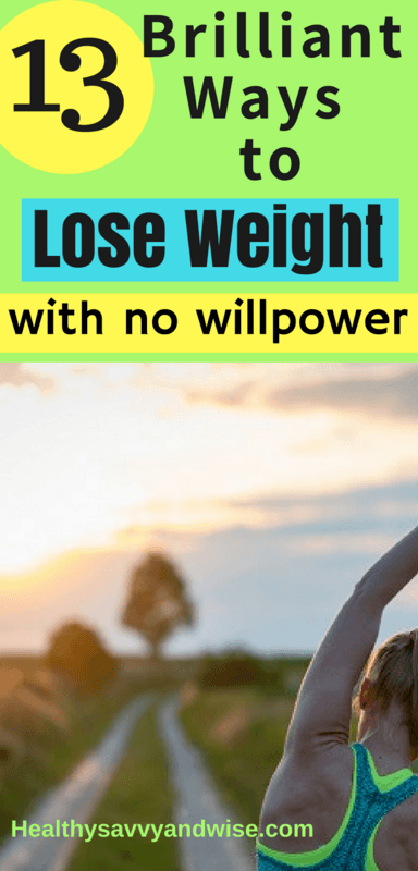 If you're fresh out of willpower, and you've tried a million things, give these easy weight loss and  fitness tricks a try. These health tips don't call for starving yourself or doing super workouts. Read more to see why ANYONE can be successful with these 13 simple changes.