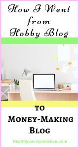 Pinterest graphic - make money blogging