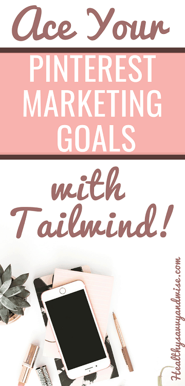 Pinterest graphic - blog marketing with Tailwind Pinterest scheduler