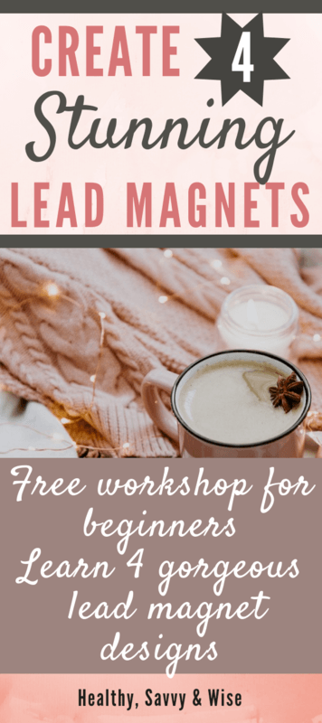 Lead magnets for beginners graphic