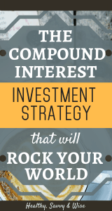 compound interest examples - retirement saving plan graphic