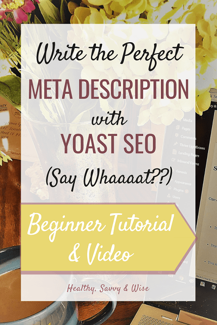 What is a meta description and how to write one with Yoast.