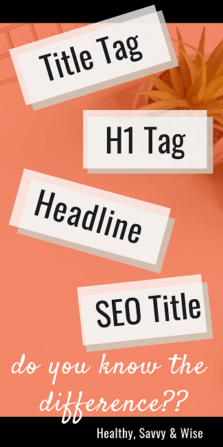 H1 tag, SEO title, headline... blog headers you should know!
