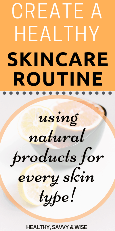 Over 40 skincare - graphic with natural citrus
