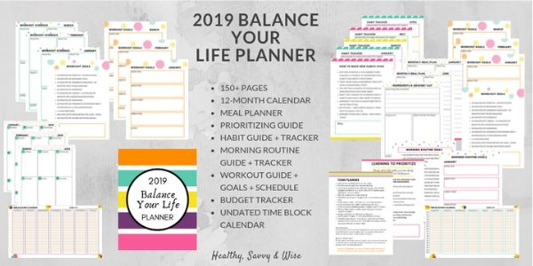 Balance Your Life Planner