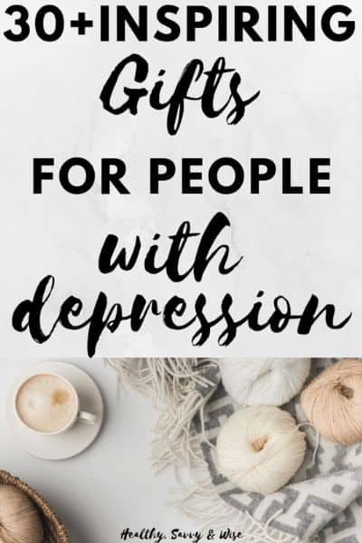 30+ Gifts for People with Depression