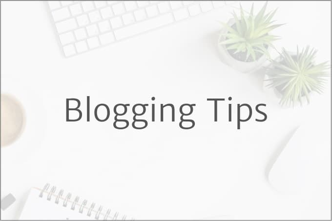Blogging Tips (1)