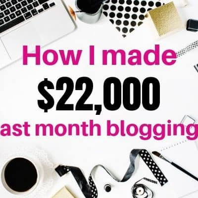 How I made $22,000 from my Home Decor blog – Income Report April 2019