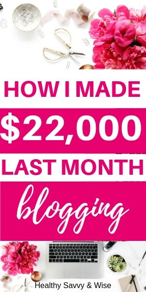 Blog income report - How I made $22,000