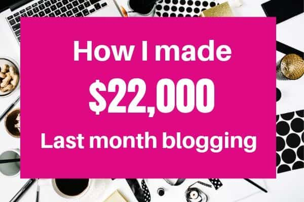 Income report for my home decor blog May 2019
