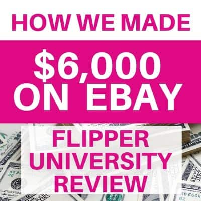 How We Made $6,000 Selling on eBay (Flipping University Review)