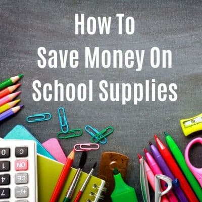 Back to School: 9 Ways to Save Money on School Supplies