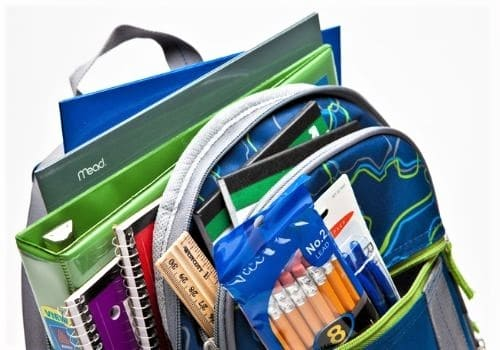 back to school supplies, how to save money